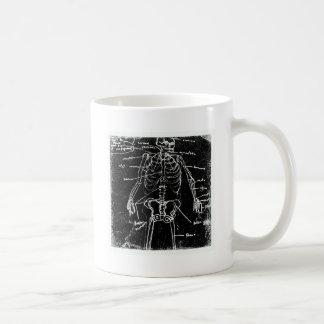yaie Tokyo menselijke skeletanatomie Koffiemok