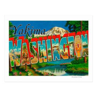 Yakima, Washington - de Grote Scènes van de Brief Briefkaart