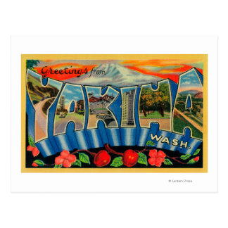 Yakima, Washington - Grote Scènes 2 van de Brief Briefkaart