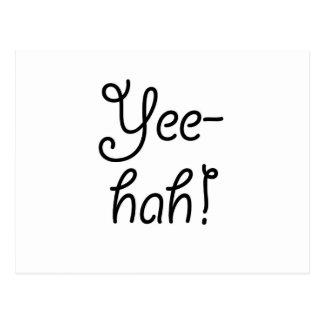 Yee -yee-hah! briefkaart