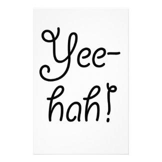 Yee -yee-hah! briefpapier