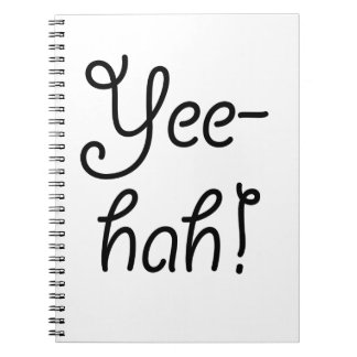 Yee -yee-hah! ringband notitieboek
