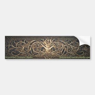 Yggdrasil - Boom van het Leven - de Sticker van de