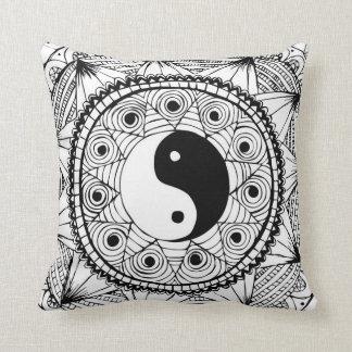 Yin & de Zwarte van Yang Sierkussen