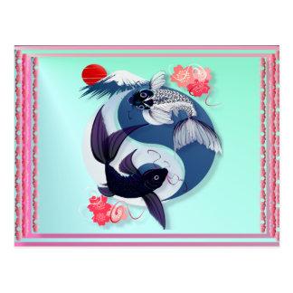Yin en de Briefkaarten van Yang Koi