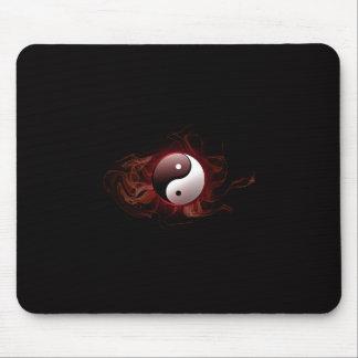 yin en yang mousepad muismat