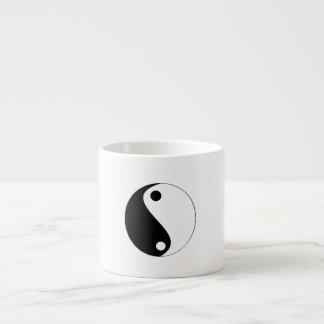 Yin/het Symbool van Yang - espressokoppen Espresso Kop