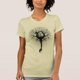 Yin Yang, Boom van het Leven, Vrouwen, Yoga T Shirt