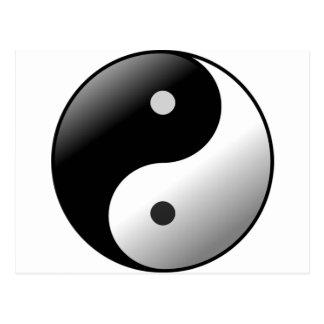 Yin Yang Briefkaart