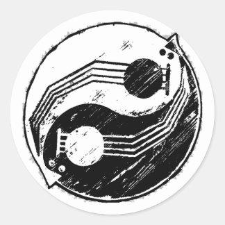 Yinjo Ronde Sticker