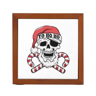 Yo ho ho - piraatsanta - de grappige Kerstman Pennenhouder