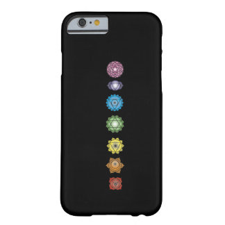 yoga chakras barely there iPhone 6 hoesje