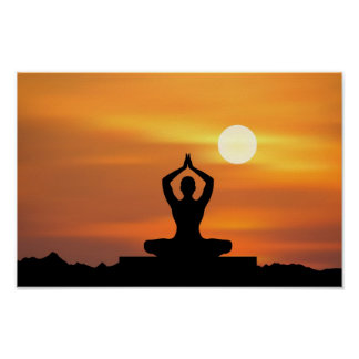 Yoga - Meditatie Poster