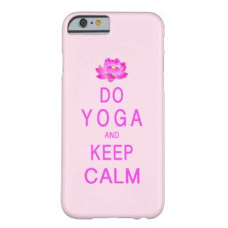 Yoga met de Bloem van Lotus Barely There iPhone 6 Hoesje