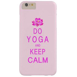 Yoga met de Bloem van Lotus Barely There iPhone 6 Plus Hoesje