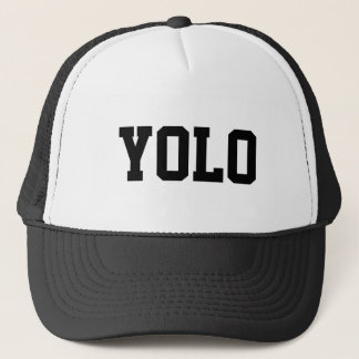 YOLO het pet van de Vrachtwagenchauffeur