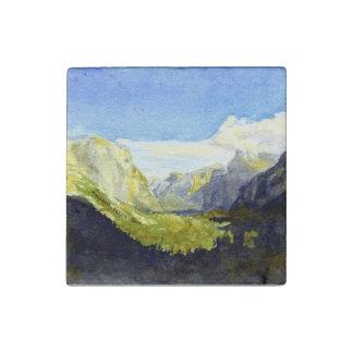 Yosemite, het Punt van de Inspiratie Stenen Magneet