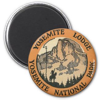 YOSEMITE NATIONAAL PARK - VINTAGE REIS MAGNEET
