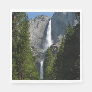 Yosemite valt II van Nationaal Park Yosemite Wegwerp Servetten