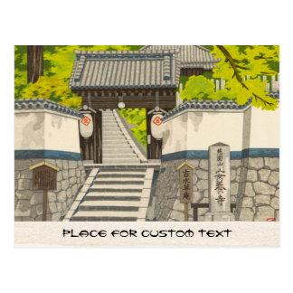 Yoshimizu, Imai van de Tempel Anyoji de kunst Briefkaart
