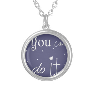 You can do IT Ketting Rond Hangertje