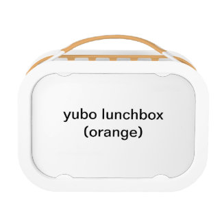 yubo lunchbox (sinaasappel)