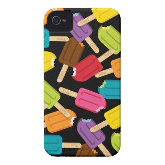 Yum! (Het Zwarte) Hoesje van iPhone van de ijsloll