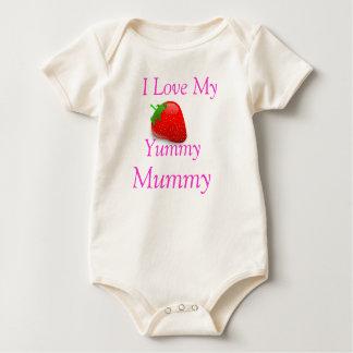 Yummy Baby van de Brij groeit Baby Shirt