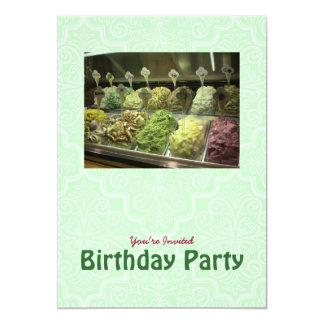 Yummy Uitnodiging van de Verjaardag Gelato