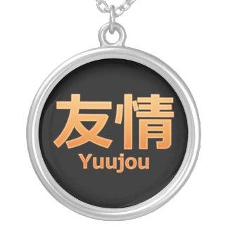 Yuujou (Vriendschap) Ketting Rond Hangertje