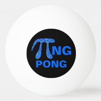 Z de Blauwe Pi Wiskunde Geek Grappig Pi van het Pingpongbal