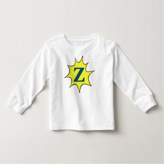 Z het Motief van de Zonnestraal Kinder Shirts