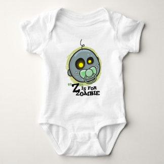 """""""Z"""" is voor Zombie (babyjongens) Romper"""