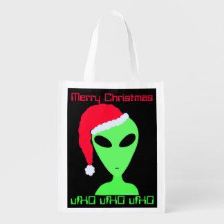 Z Kerstmis van het Bolsa van de Humor van Geek van Boodschappentas