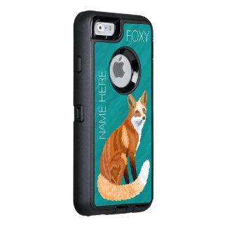 Z Rode Leuke Foxy van de Stijl iphone6 van de Vos OtterBox Defender iPhone Hoesje
