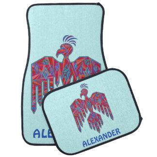 z Thunderbird de Inheemse Amerikaanse Douane van Auto Vloermat