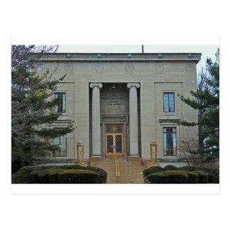 Zaal I van de Muziek van Erie universiteit-Morley Briefkaart