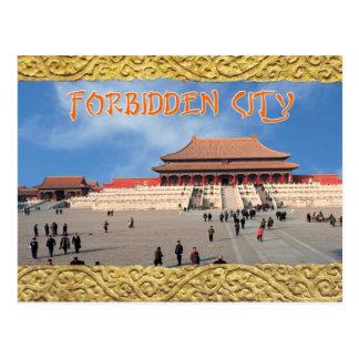 Zaal van Opperste Harmonie, Verboden Stad, China Briefkaart