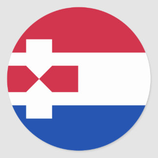 Zaanstad Nederland, Nederland Ronde Sticker