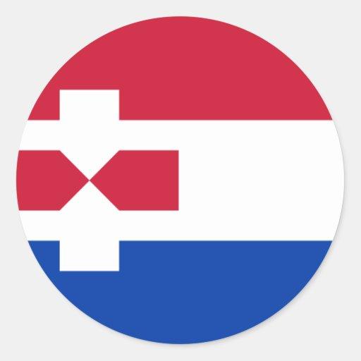 Zaanstad Nederland, Nederland Ronde Stickers