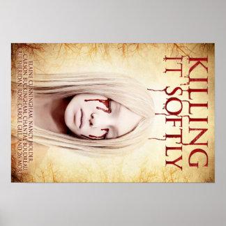 Zacht dodend het - het Art. van het Poster