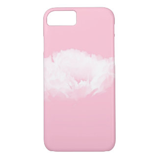 Zachte Roze Witte Pioen - Bloemen iPhone 7 Hoesje