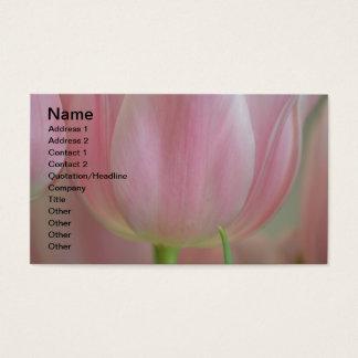 Zachte Tulpen Visitekaartjes