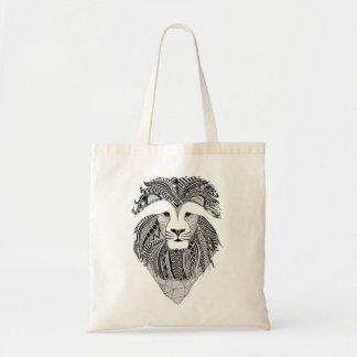 Zak leeuw dark Bag leeuw Draagtas
