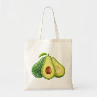 Zak met avocado budget draagtas