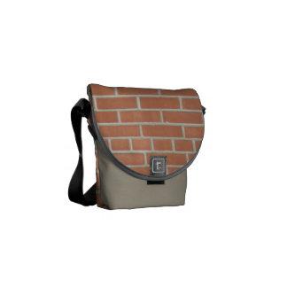 Zak van de Boodschapper van de Bakstenen muur de M Courier Bag