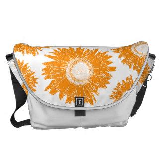Zak van de Boodschapper van de oranje Riksja van Messenger Bag
