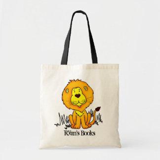 Zak van de de kattenbibliotheek van de leeuw de draagtas