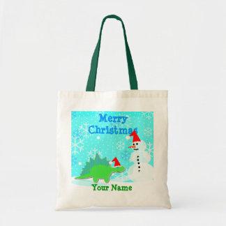 Zak van de Gift van Kerstmis van de Sneeuwman van  Draagtas