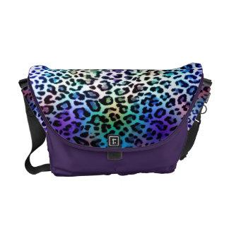 Zak van de Luipaard van de regenboog de Messenger Bags